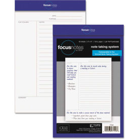 """TOPS® Idea Collective Legal Pad 77153, 5"""" x 8"""", White, 50 Sheets/Pad, 1/Pack"""
