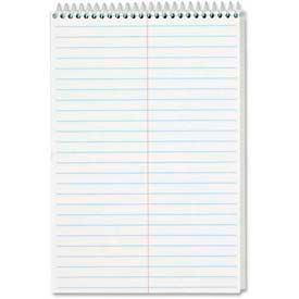 """Tops® Steno Book, 6"""" x 9"""", Gregg Ruled, White, 80 Sheets/Pad, 12 Pads/Pack"""