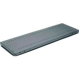"Tri-Boro Boxer® Shelf, BX2442L, 42""W x 24""D, 22 Gauge, 500 lb. Capacity, Dark Gray"