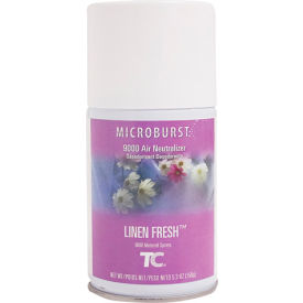 Rubbermaid® Microburst 9000 Aerosol Refill - Linen Fresh - FG4012441 - Pkg Qty 4