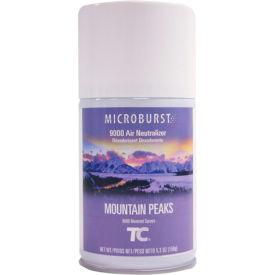 Rubbermaid® Microburst 9000 Aerosol Refill - Mountain Peaks - FG4012461 - Pkg Qty 4
