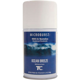 Rubbermaid® Microburst 9000 Aerosol Refill - Ocean Breeze - FG4012471 - Pkg Qty 4