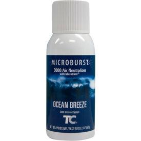 Rubbermaid® Microburst 3000 Aerosol Refill - Ocean Breeze - FG4012581 - Pkg Qty 12