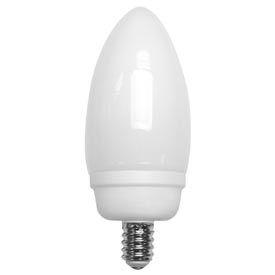 Tcp 10714c 14 Watt Decorative Candelabra Base- Cfl Bulb - Pkg Qty 48
