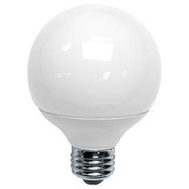 Tcp 1g250951k 9 Watt G25 Globe 51k- Cfl Bulb - Pkg Qty 24