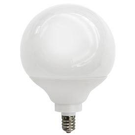 Tcp 1g2509c 9 Watt G25 Globe Candelabra Base- Cfl Bulb - Pkg Qty 24