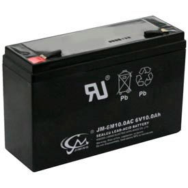TCPI 20739 Lead Acid Battery 6V 10 Ah