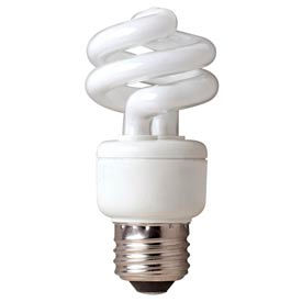 Tcp 80100950 9w Springlight 50k- Cfl Bulb - Pkg Qty 12