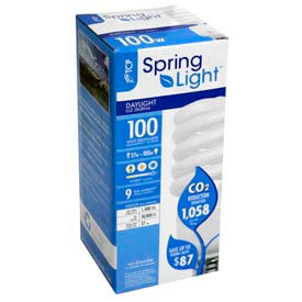 Tcp 80102750 27w Springlight 5000k- Cfl Bulb - Pkg Qty 12