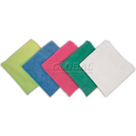 "O'Dell 16 X 16"" Knitted Microfiber General Purpose Cloth, Pack Qty 12 Green MFK-G - Pkg Qty 12"