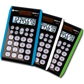 8 digit Hybrid Slim Line Handheld Calculator, 3 Pieces by