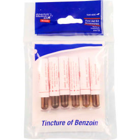 Adventure Medical Kits 0155-0254 Tincture of Benzoin 6 Pack