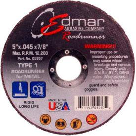 "Edmar Abrasive Company 05957 Cut-Off Wheel T1 5"" x .045"" x 7/8""..."