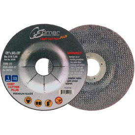 "Edmar Abrasive Company 10160 Cut-Off Wheel T29 4-1/2"" x .045"" x 7/8"" 60 Grit Diamond Grain - Pkg Qty 50"