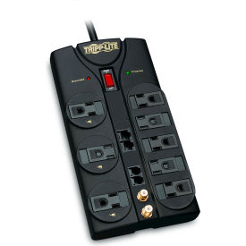 Protect It! Surge Protector/Suppressor 8 Outlets 10' Cord 3240 Joules