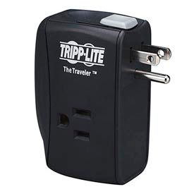 Traveler Surge Protector/Suppressor 2 Outlets Direct Plug-In 1050 Joules