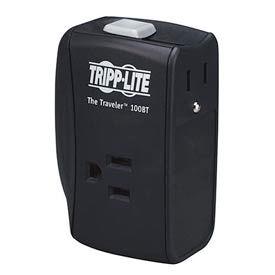 Traveler Surge Protector/Suppressor 2 Outlets For Ethernet 1050 Joules