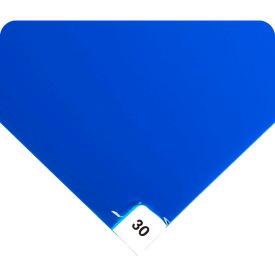 """Wearwell Clean Room Mat 095 36""""X60"""" Blue 4 Mats Per Case"""