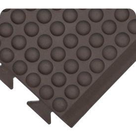 "Wearwell 503 Domed Rejuvenator Connect End Male 36""X5' Black"
