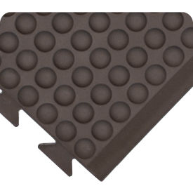"Wearwell 503 Domed Rejuvenator Connect End Male 24""X5' Black"