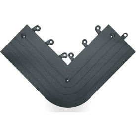 "Wearwell 560 ErgoDeck Heavy Duty Outside Corner 6""X15"" Black"