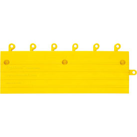 "Wearwell 561 ErgoDeck Ramp with Grit Shield  6""X18"" Yellow"