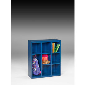 "Tennsco Cubby Cabinet CC-40-RBL - Welded 34-1/2""W x 13-1/2""D x 40""H Regal Blue"