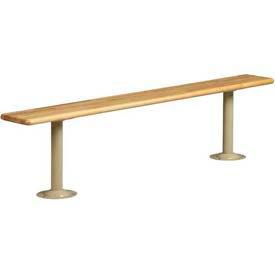 "Tennsco Steel Locker Bench Pedestal LBP-1 214 - 16-1/4""H, Sand"