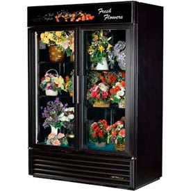"""True® GDM-49FC Floral Merchandiser 2 Section - 54-1/8""""W X 29-7/8""""D X 78-5/8""""H"""