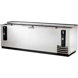 "True TD-95-38-S Bottle Cooler Flat Top 95-3/8""W X 26-5/8""D X 33-3/8""H by"