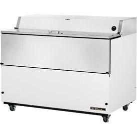 """True® TMC-58 Mobile Milk Cooler 16 Crates - 58'""""W X 33-3/8""""D X 41-1/2""""H"""