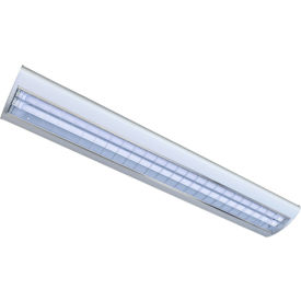 Straits 13071555 Suspended Streamline LED Fixture, 4ft, 40W, 5000K, 4600 Lumens, Lamps Included