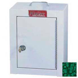 "Harloff Narcotics Box w/BEST® Lock, Medium, Double Door, Double Lock 12""W x 9""D x 16""H - HTGN"