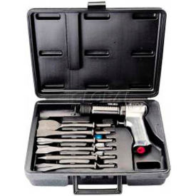 Ingersoll Rand 1052144 IR 121-K6 Heavy Duty Air Hammer Set W/6Pc Chisel/Case IR121-K6