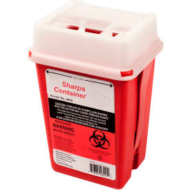 First Voice™ 1 Quart Sharps Container with OSHA Compliant Blood Borne Pathogen Training
