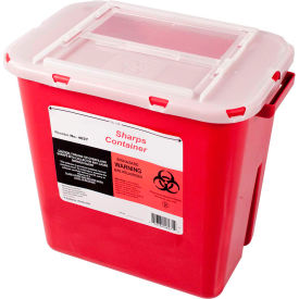 First Voice™ 2 Gallon Sharps Container with OSHA Compliant Blood Borne Pathogen Training
