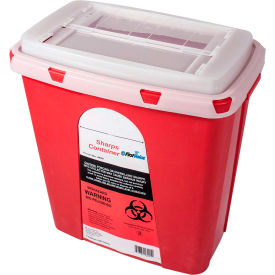 First Voice™ 6 Gallon Sharps Container with OSHA Compliant Blood Borne Pathogen Training