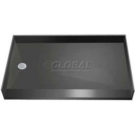 """Tile Redi, 3460LBF-PVC, 34"""" x 60"""", Rectangular Barrier Free Shower Pan W/Left Drain"""
