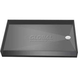 "Tile Redi, 3560RBF-PVC, 35"" x 60"", Rectangular Barrier Free Shower Pan W/Right Drain"
