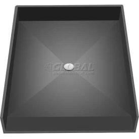 """Tile Redi, 4838CBF-PVC, 48"""" x 38"""", Rectangular Barrier Free Shower Pan W/Center Drain"""