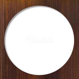 "Tile-Redi, DP-SQT-OB, 5.75"", Sq. 14 Gauge Stainless Steel Drain Plate Trim, Oil Rubbed Bronze Finish"