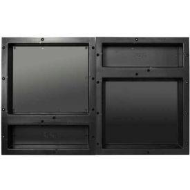 Tile Redi, RNQH1620D-20DU, Rectangular Quad Horizontal Recessed Shelf Set, W/2 RN1620D Dbl. Shelves