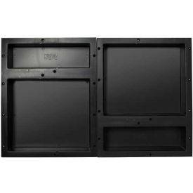 Tile Redi, RNQH1620DU-20D, Rectangular Quad Horizontal Recessed Shelf Set, W/2 RN1620D Dbl. Shelves