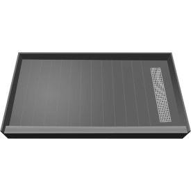 "Tile Redi, RT3672R-PVC-BN3, 36"" x 72"", Rectangular Single Shower Pan W/ Right Drain"
