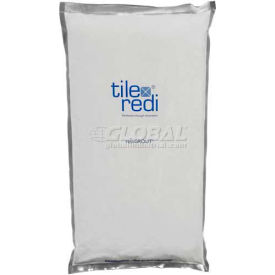 Tile Redi, rediGrout-BW 10, Bright White Color Grout, 10 Lbs.