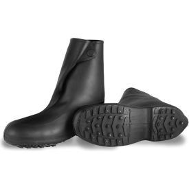 """Tingley 1450 Winter-Tuff 10"""" Ice Traction Stretch Overshoes, Black, Studded Outsole,... by"""