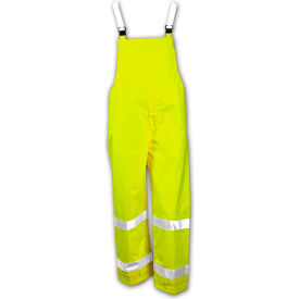 Tingley® O23122-Vision™ Snap Fly Front Overall, Fluorescent Lime, Medium