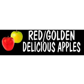 Red/Golden Apples Grocery Signs (2-Track Photo Real Insert)