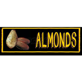 Almonds Grocery Signs (3-Track Chalk Art Insert) by
