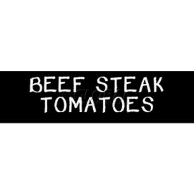 Beef Steak Tomatoes Grocery Signs (1-Track Chalk Text Insert) by